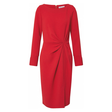 Closet London Sukienka 'Closet Pleated Front Pencil Dress' czerwony