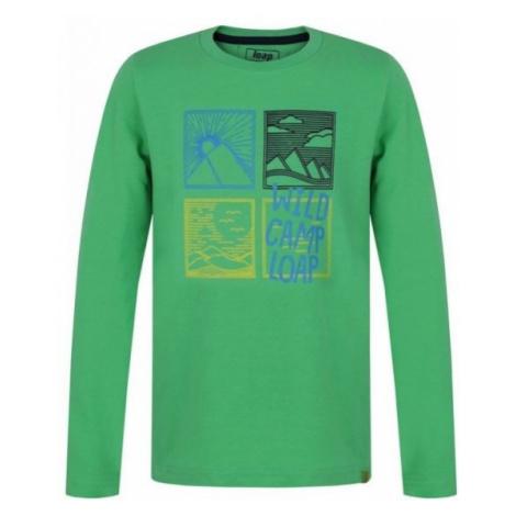 Loap ADJAN zielony 122-128 - Koszulka chłopięca