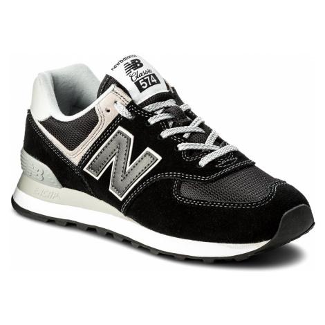Sneakersy NEW BALANCE - ML574EGK Czarny Szary