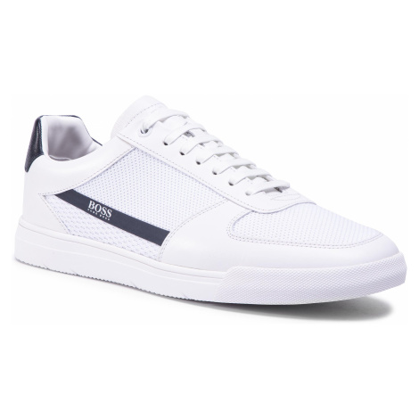 Sneakersy BOSS - Cosmopool 50432768 10227341 01 White 100 Hugo Boss