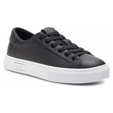 Sneakersy ARMANI EXCHANGE - XDX027 XCC14 A120 Black/White