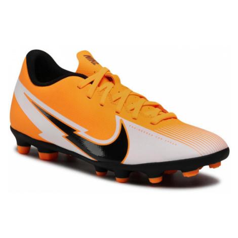 Nike Buty Vapor 13 Club Fg/Mg AT7968 801 Pomarańczowy