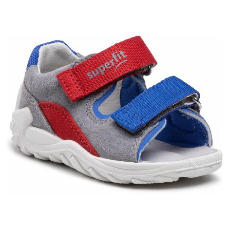 Sandały SUPERFIT - 1-000032-2500 M Grey/Blue