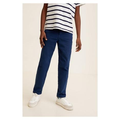 Mango Kids - Spodnie dziecięce 104-164 cm