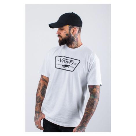 Koszulka Vans Full Patch Yb2 White/black