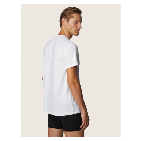Boss Komplet 2 t-shirtów RN 2P CO 50325390 Biały Relaxed Fit Hugo Boss