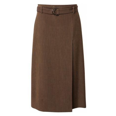 BRAX Spódnica 'Karlie' brązowy / czarny / jasnobrązowy