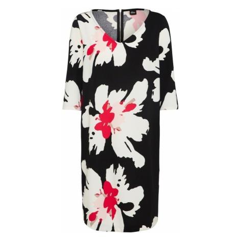 S.Oliver BLACK LABEL Sukienka różowy / czarny / biały
