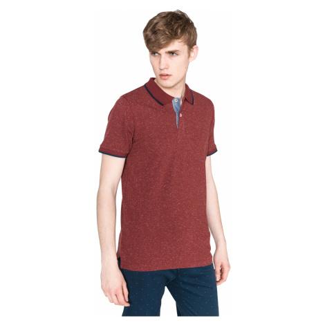 Jack & Jones Ger Polo Koszulka Czerwony