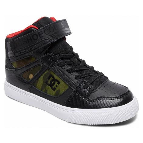 dziecięce buty DC Pure High -Top SE EV - CMO/Camo