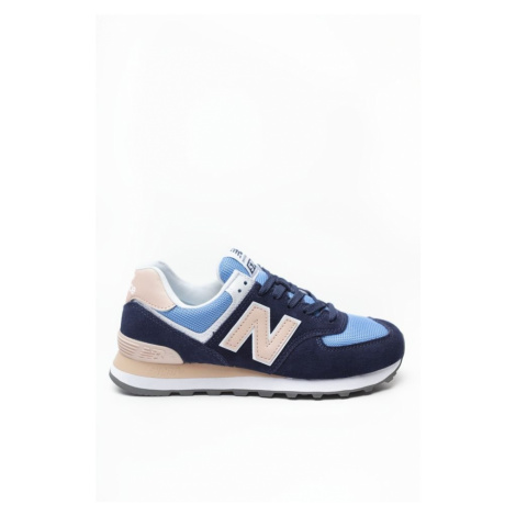 Buty New Balance Wl574Wnd Blue With Salmon 574
