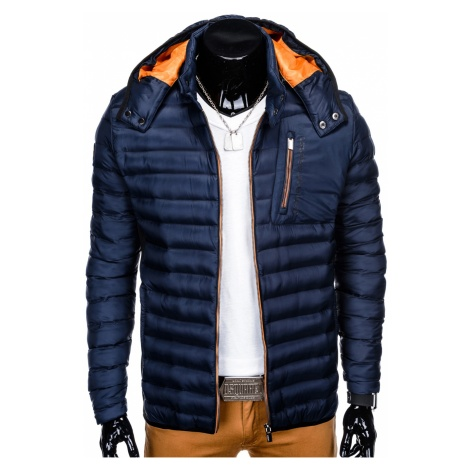 Ombre Clothing Men's mid-season quilted jacket C362