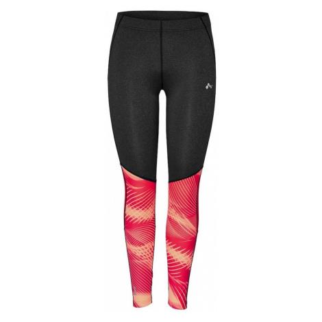 ONLY PLAY Spodnie sportowe 'Emilia' ciemnoszary / łososiowy