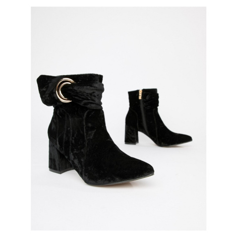 Glamorous Heeled Ankle Boots