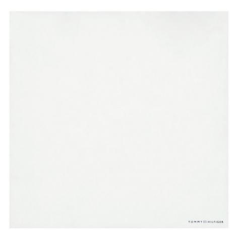 Tommy Hilfiger Tailored Poszetka Cotton Solid Pocket Square TT0TT08597 Biały