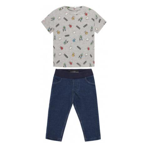 Komplet t-shirt i legginsy Guess