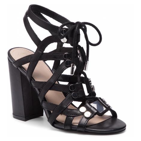 Sandały GUESS - Karlie FL6RLI LEA03 BLACK