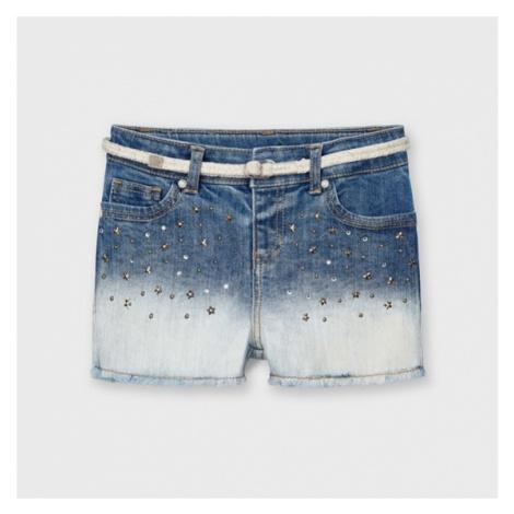 Mayoral Szorty jeansowe 3210 Granatowy Regular Fit