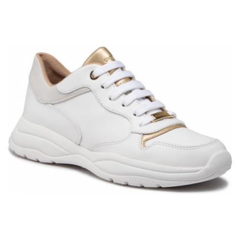 Geox Sneakersy D Smeraldo A D04GCA 085NF C1000 Biały