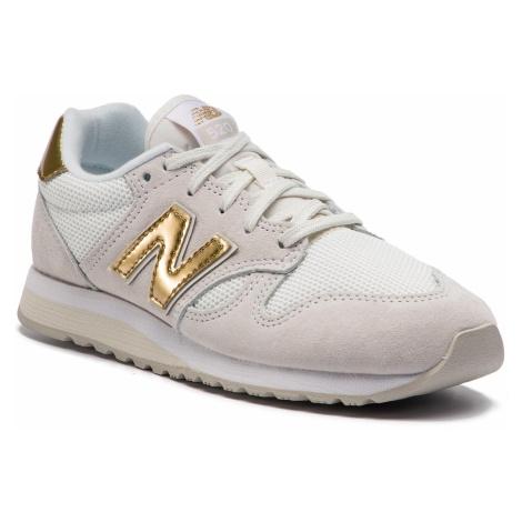 Sneakersy NEW BALANCE - WL520GDA Beżowy