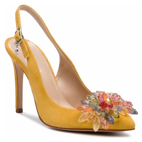 Sandały SOLO FEMME - 34297-A8-G22/000-05-00 Żółty