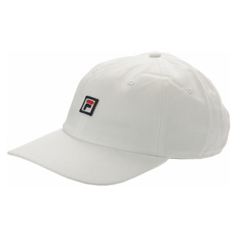 czapka z daszkiem Fila Dad F-Box - Bright White