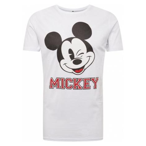 Mister Tee Koszulka 'Mickey College' biały