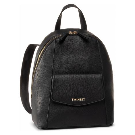 Plecak TWINSET - Zaino 201TO8042 Nero 00006