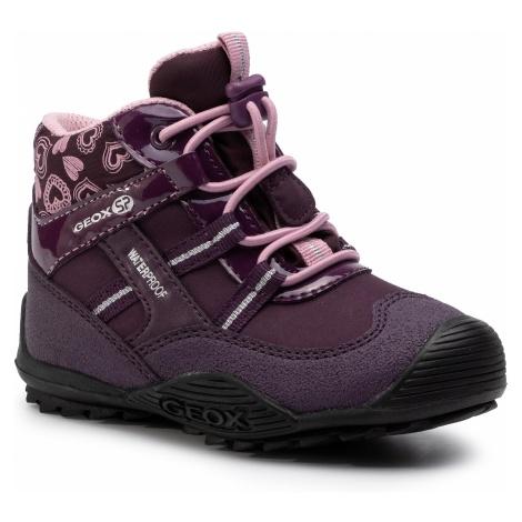 Śniegowce GEOX - J Atreus G.B Wpf A J847HA 00450 C8224 M Purple/Pink