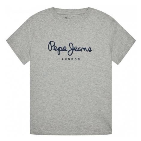 Pepe Jeans T-Shirt PB501229 Szary Regular Fit