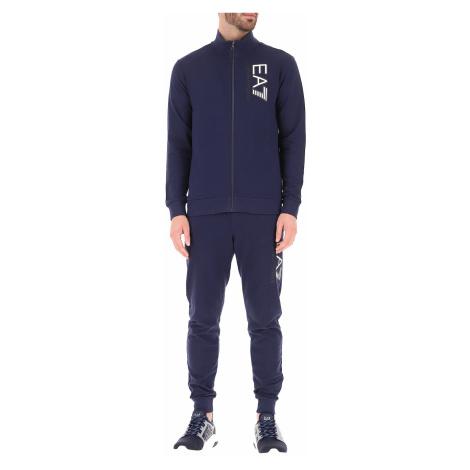 Emporio Armani Męska Odzież Sportowa na Siłownie lub do Biegania Na Wyprzedaży, niebieski (Blue