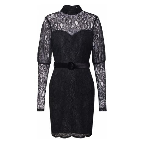 Fashion Union Sukienka koktajlowa 'MARGERINE' czarny