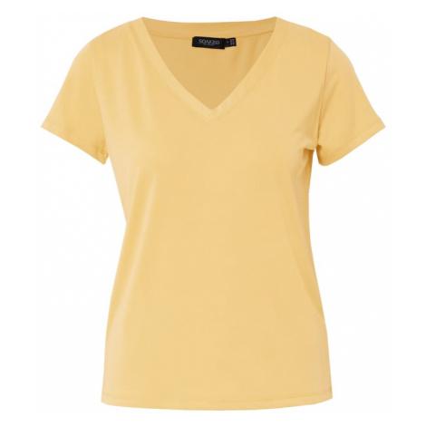 SOAKED IN LUXURY Koszulka 'Columbine' żółty
