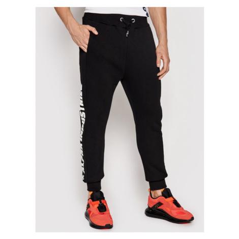 Alpha Industries Spodnie dresowe Inlay Rubber Jogger 116371 Czerwony Slim Fit
