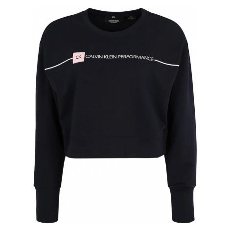 Calvin Klein Performance Bluzka sportowa atramentowy