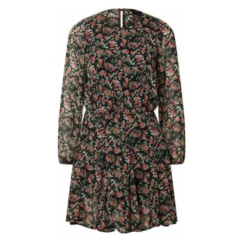 AX Paris Sukienka 'Dress' czarny / brązowy / różowy