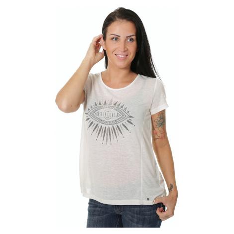 koszulka Rip Curl Chaati - Ecru Marle