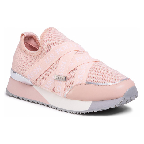 Sneakersy U.S. POLO ASSN. - Brianna FRIDA4178S0/TY1 Nude