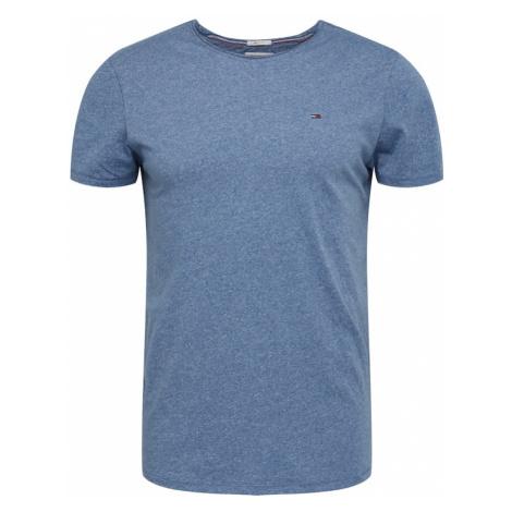 Tommy Jeans Koszulka 'Jaspe' nakrapiany niebieski Tommy Hilfiger