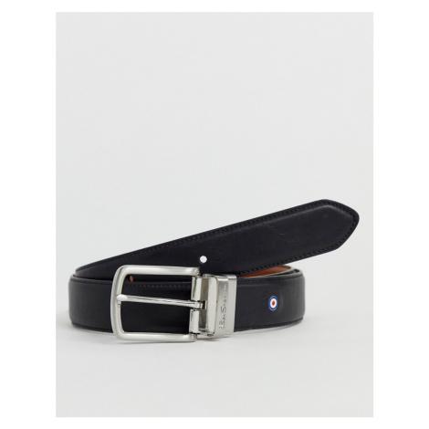 Ben Sherman reversible black & tan smart belt