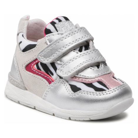 Sneakersy NATURINO - Falcotto By Naturino Hepli Vl. 0012015891.03.1Q28 Silver/Zebra