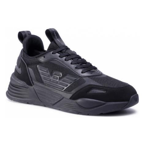 EA7 Emporio Armani Sneakersy X8X070 XK165 A083 Czarny