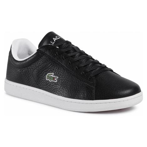 Sneakersy LACOSTE - Carnaby Evo 0120 2 Sma 7-40SMA0015454 Blk/Off Wht