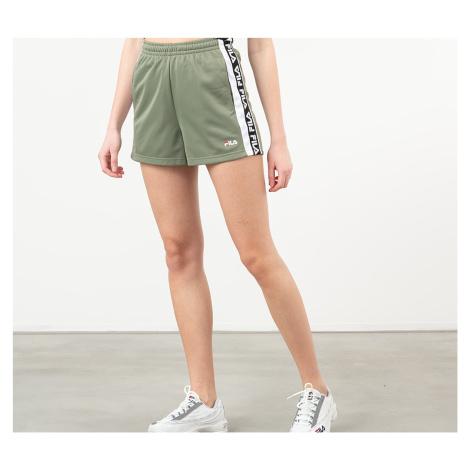 FILA Tarin High Waist Shorts Sea Spray/ Bright White