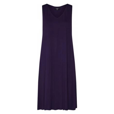 OPUS Letnia sukienka 'Winga' ciemnofioletowy