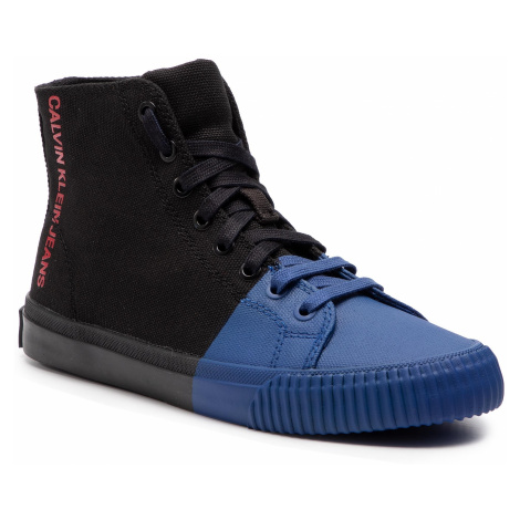 Sneakersy CALVIN KLEIN JEANS - Iridea R7778 Black/Nautical Blue