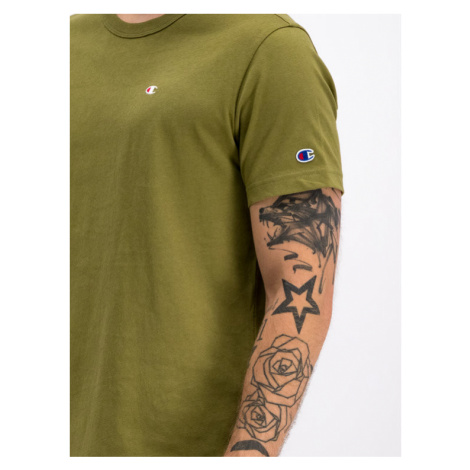 Champion T-Shirt 2132974 Zielony Regular Fit