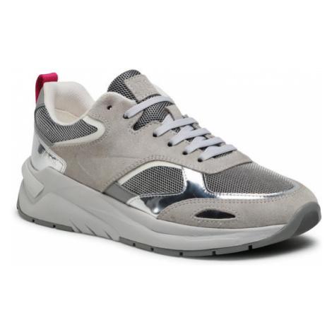Boss Sneakersy Skylar 50447473 10233158 01 Szary Hugo Boss