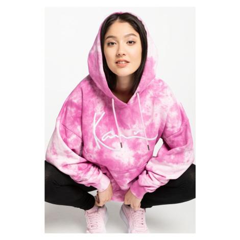 Bluza Karl Kani Kk Signature Tie Dye Hoodie 6128370 Pink