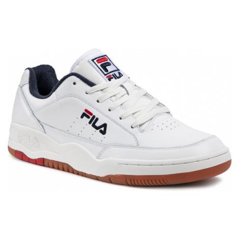 Sneakersy FILA - Town Classic 1011138.92K White/Fila Red